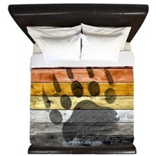 Bear Wood_11 King Duvet