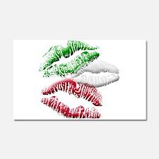 Italian Kiss Car Magnet 20 x 12