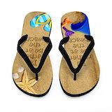 Starfish flip flops Flip Flops