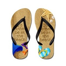 Rather be at Beach Flip Flops