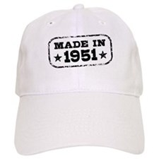 Made In 1951 Baseball Cap