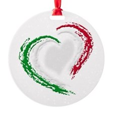 Italian Heart Ornament