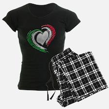 Italian Heart Pajamas