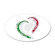 Italian Heart Wall Decal