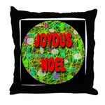 Joyous Noel Throw Pillow