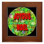 Joyous Noel Framed Tile