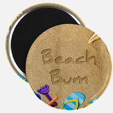 Beach Bum 2.25 Magnet (10 pack)