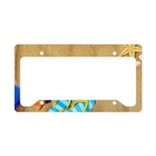 Beach Bum License Plate Holder