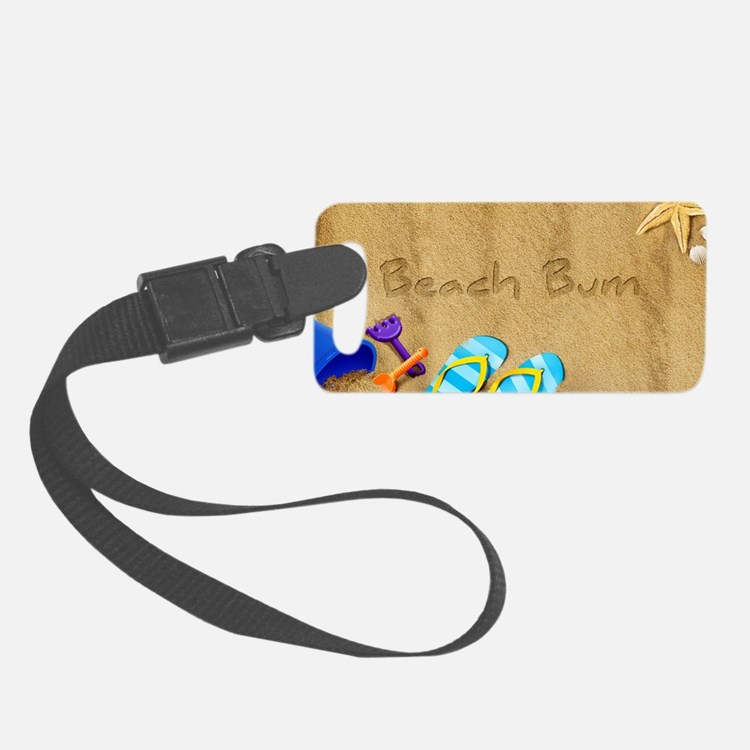 Beach Bum Luggage Tag