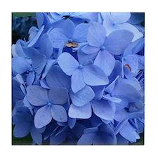 Unique Purple flower Tile Coaster