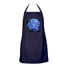 Cute Blue hydrangea Apron (dark)
