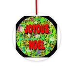 Joyous Noel Ornament (Round)