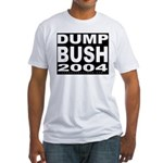 Dump Bush 2004 T-shirt (Made in the USA)