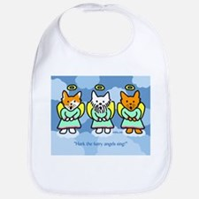 Furry Angels Bib