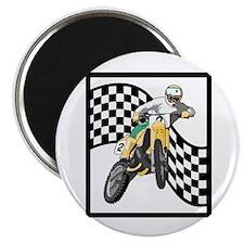 Motocross Design Magnet