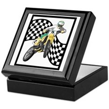 Motocross Design Keepsake Box