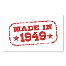 Made In 1949 Decal