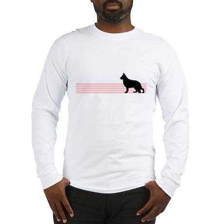 Retro German Shepherd Long Sleeve T-Shirt