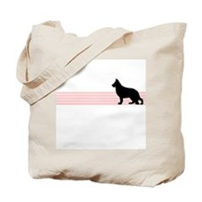 Retro German Shepherd Tote Bag
