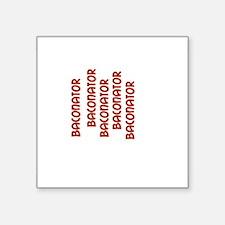Baconator Baconator Strips Sticker