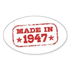 Made In 1947 Decal