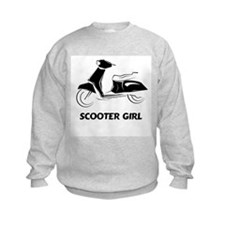 Scooter Girl (Black) Sweatshirt
