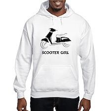 Scooter Girl (Black) Hoodie