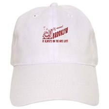 Nice List Brooklyn Christmas Baseball Cap