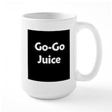 go go juice in B&W Mug
