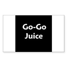 go go juice in B&W Decal