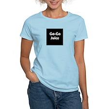 go go juice in B&W T-Shirt