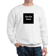 go go juice in B&W Sweater
