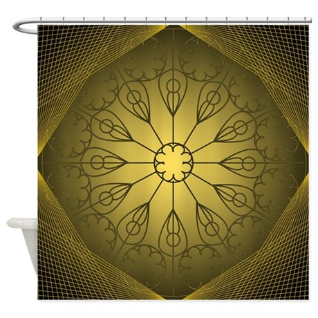 Dome illusion Shower Curtain
