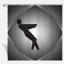 Waterskiing Shower Curtain