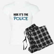 Hide it's the Police Pajamas