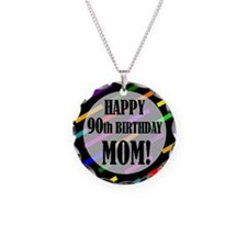 90th Birthday For Mom Necklace