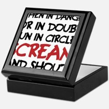 Danger Doubt Scream & Shout Keepsake Box