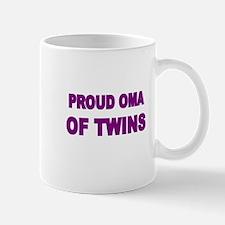 PROUD OMA OF TWINS Mug