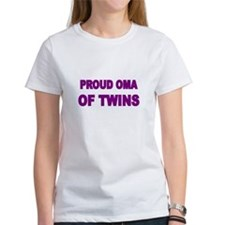PROUD OMA OF TWINS T-Shirt