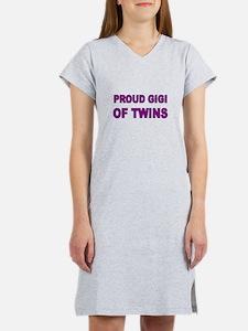 PROUD GIG OF TWINS Women's Nightshirt