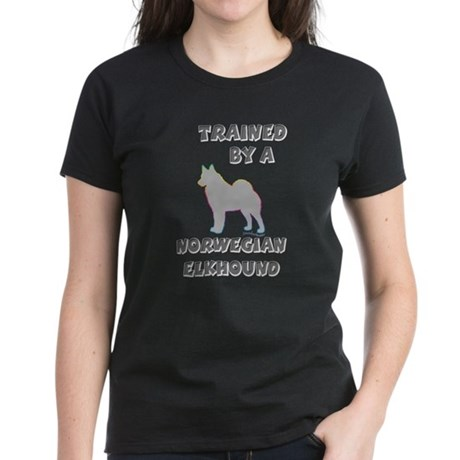 Elkhound Silver Women's Dark T-Shirt