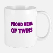 PROUD MEMA OF TWINS Mug