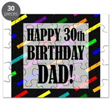 30th Birthday For Dad Puzzle