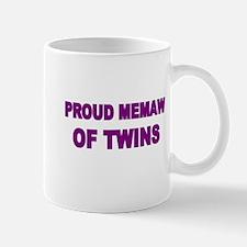 PROUD MEMAW OF TWINS Mug