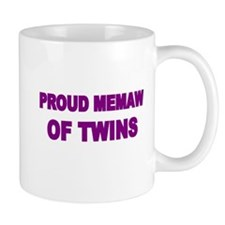 PROUD MEMAW OF TWINS Mug