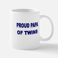 PROUD PAPA OF TWINS Mug
