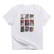 9 zombie cats Infant T-Shirt