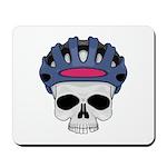 Cycling Skull Head Mousepad