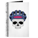 Cycling Skull Head Journal