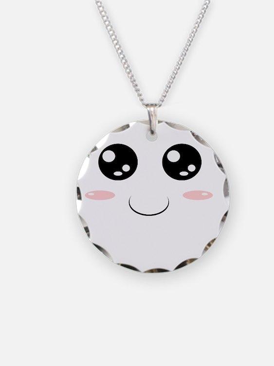 Smiley Kawaii Face Necklace